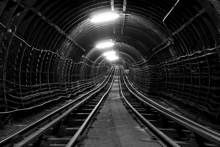 London underground mail train